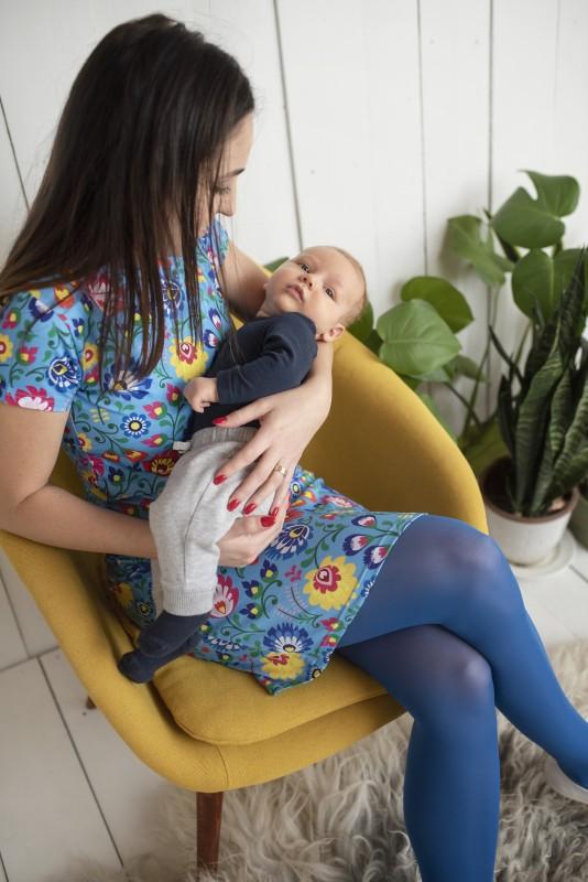 Šaty na dojčenie Folk
