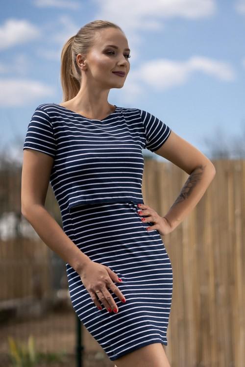 Šaty na dojčenie Marína
