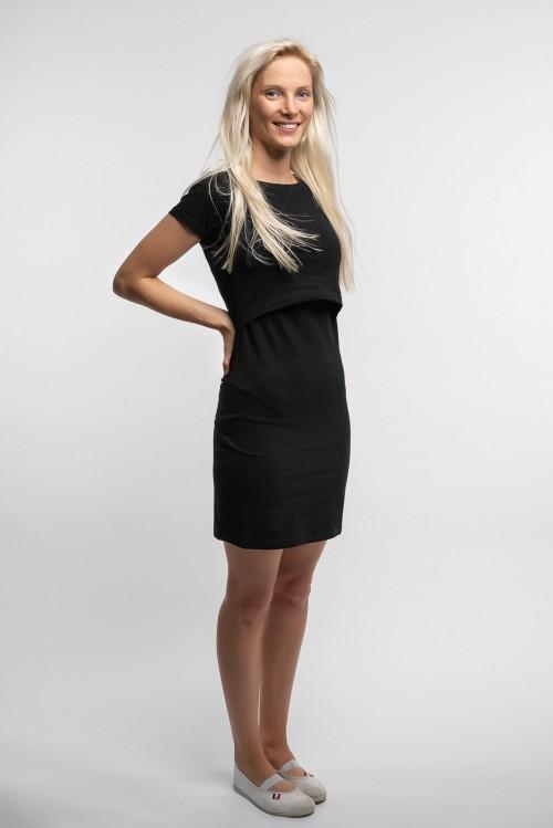 Šaty na dojčenie Marína Black