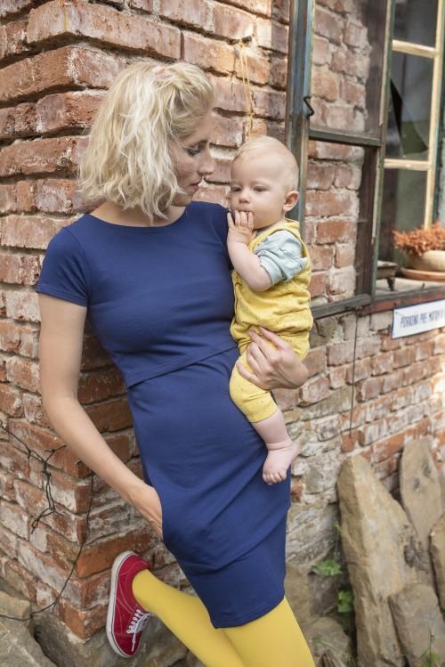 teplákové šaty na dojčenie